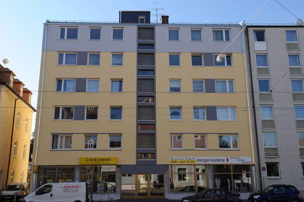 Sanierung Wohnanlage Landsbergerstraße